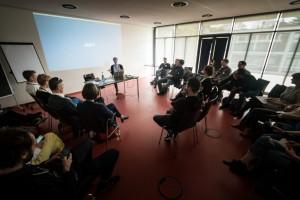 Auf der ersten sächsischen Bloggerkonferenz sprach ich über Trends. Bild: Michael Schmidt/redtowerfilms